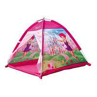 """Складывающаяся палатка """"Фея"""" для девочек от 1 года (текстиль, размер 112 х 112 х 94 см) ТМ Bino Розовый 82812"""