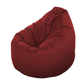 Кресло-мешок Груша XL бордо
