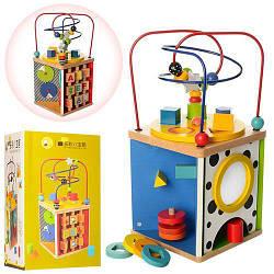 Деревянная игрушка Игра-логика MD 1058 Лабиринт на проволоке
