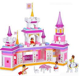 Конструктор Розовая Мечта Замок Принцессы B 0251, Лего для девочек волшебный замок 0251