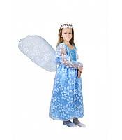 Карнавальный костюм Эльзы Принцессы  к130, фото 1