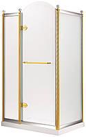 GRAND TENERIFE Combi Кабина с распашной дверью, в золоте/серебре, без поддона 1200*800*2000мм, левая