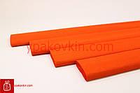 Гофрированная бумага Креп Cartotecnica Rossi 40гр. - Ярко оранжевая №0306