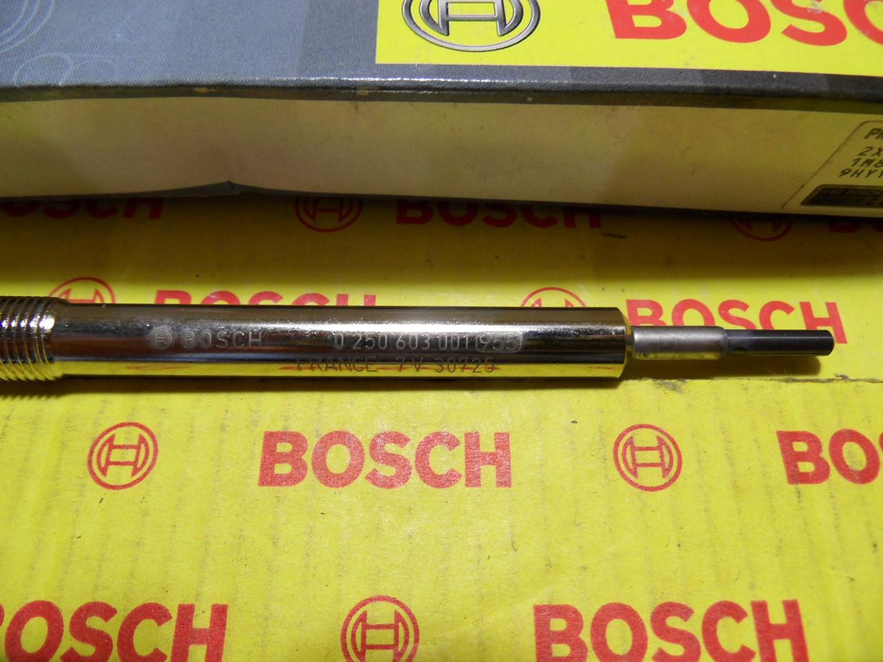 Свічка розжарювання Bosch, 0250202142, 0 250 202 142,