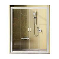 Душевые двери Ravak Rapier NRDP4-130 (раздвижные, белый+grape)