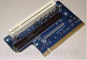 Роз'ємна карта Lenovo/IBM PCI-Express Trinidad Riser Card PCIe 1 x ADD2 R Slot + 1 x PCI, б/в