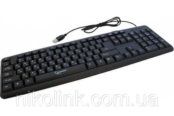 Клавиатура USB, black, комиссионный товар