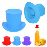 """Пробка для бутылки силикон """"Шляпа"""" 4см WHW56950 (144шт)"""