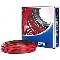 Теплый пол DEVI двухжильный кабель DEVIflex™18Т 1.6м2