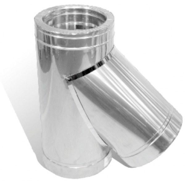Дымоход двустенный 120 система дымохода для печи газовой
