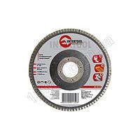 Диск шлифовальный лепестковый 180 * 22мм зерно K60