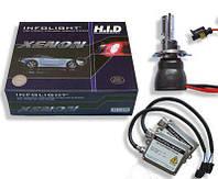 Биксенон. Установочный комплект Infolight  H4 H/L 6000K 35W