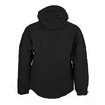 Куртка Soft Shell (M-Tac) чёрная, фото 3