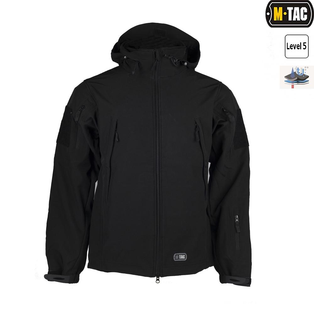 Куртка Soft Shell (M-Tac) чёрная