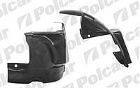 Подкрылки передние на Renault Trafic 2001->  (задняя часть, правый, R) — Polcar (Польша) - 6026FP-2