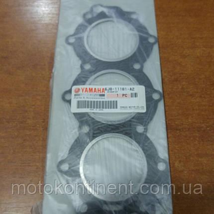 6J8-11181-A2 Прокладка головки блока Yamaha 30, фото 2