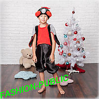 Новогодний костюм для мальчика Снегирь