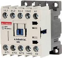 Контактор e.industrial.ukc.9M.220 9А 220В no малогабаритный