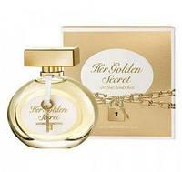 Antonio Banderas Her Golden Secret 80мл,для женщин