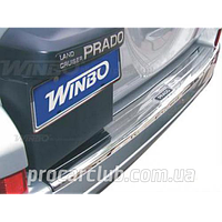 Land Cruiser 120 Prado 2003-2009 накладка на задн. бампер металл GTV-22 (G 091616)/W