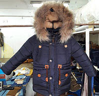 Зимняя теплая куртка парка на мальчика