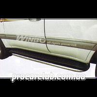 Land Cruiser 100 1998-2003 пороги- труба декор. метал. TTD 21 (B 090126) TTD 21 (B 090126)/W