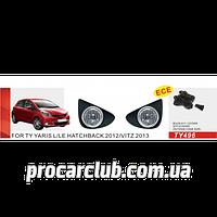 Фары доп.модель Toyota Yaris Hatchback L/LE 2012-/TY-496-W/эл.проводка TY-496-W (6)