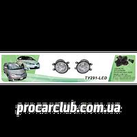Фары доп.модель Toyota Previa 2008/10/Corolla/Camry/Rav/Yaris/Avensis/2006-13/TY-291-LED-W/проводка TY-291-LED-W (6)