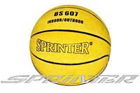 Мяч баскетбольный SPRINTER №7 кожаный, фото 1