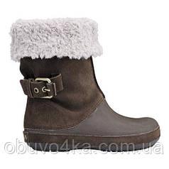 Сапоги ботинки CROCS BERRYESSA BUCKLE W6