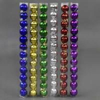 Набор новогодних игрушек шарики С 22604 d 4см 12шт