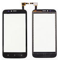 Сенсор (тачскрин) для Huawei Y625-U32 Ascend черный Оригинал