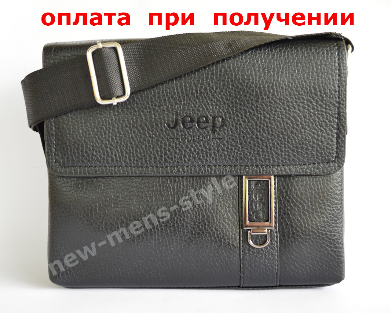 d4fc23e7a8c1 Купить сейчас - Мужская кожаная фирменная сумка барсетка Jeep Polo ...