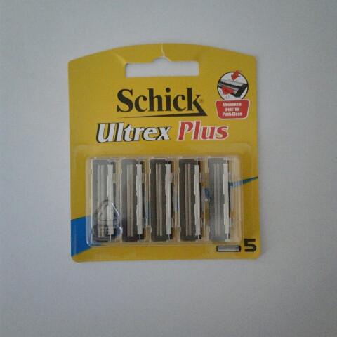 Касети для гоління чоловічі schick ultrex plus 5 шт. (Шик ультрекс) сумісно з Gillette Slalom