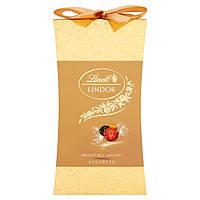 Новогодняя серия Шоколадных конфет  Lindt Lindor Cornet Assorted ассорти вкусов,75 g