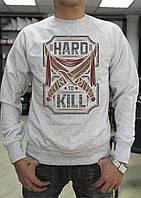 """Мужской свитшот """"Hard to kill"""""""