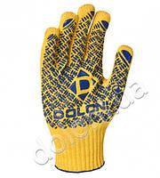 Рабочие перчатки трикотажные с ПВХ Doloni 4460