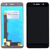 Дисплей (экран) для Huawei Y6 Pro/Enjoy 5/Honor Play 5X + с сенсором (тачскрином) черный Оригинал