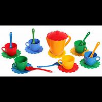 Набор игрушечной посуды Ромашка ЛЮКС арт. 39087