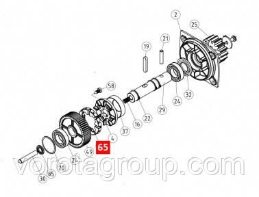 Диск сцепления редуктора NICE RB600 (PPD0969.4540)