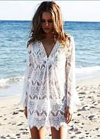 Ажурная пляжная сорочка