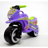 Каталка Мотоцикл фиолетовый 11-006