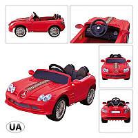 Машина SLR-722SR-3 2*35W/12V/7AH, 3-7км/ч, 3-8лет, красная, на Р/У 120-56-45см