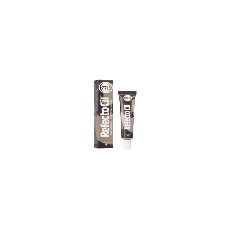 Краска для бровей и ресниц RefectoCil. №3 Natural Brown.