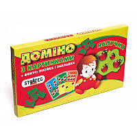 Домино 761 (12шт) Стратег, Яблучка, в кор-ке, 35,5-20-3см