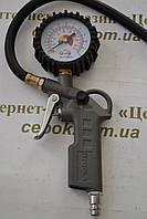 Пістолет для підкачки коліс з манометром
