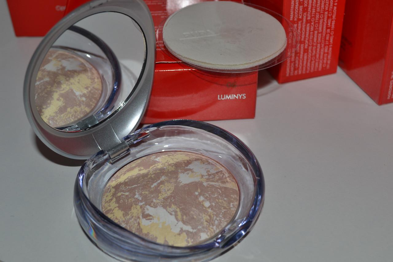Пудра Пупа Pupa для лица компактная запеченная Luminys Baked Face Powder 9гр.