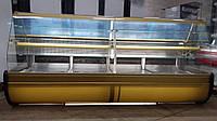 Кондитерская витрина Jordao 2,8 м.б у, прилавок кондитерський бу.