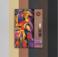Бумага планшет для пастели Сладкие грёзы А4, 18л, 6цветов, 160г/м2
