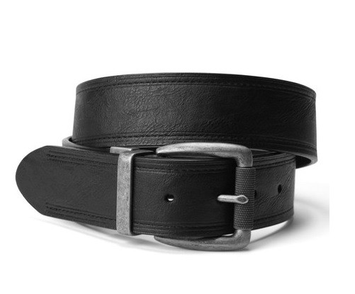 Ремень Levi's® Reversible Double Stitched Leather Belt - Black/Brown